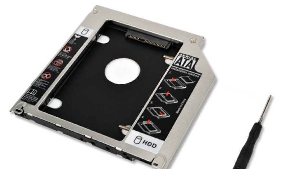9-5mm-Second-HDD-Caddy-2nd-SATA-2-5-Hard-Disk-Drive-SSD-Enclosure-for-Apple