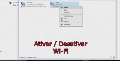 Como ativar / Desativar o Wifi do seu computador no Windows 10
