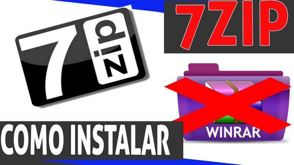 como instalar o 7zip?