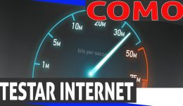 Testar velocidade de conexão banda larga