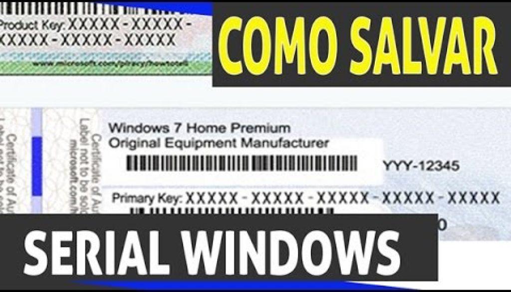 Como ver o serial do Windows 7