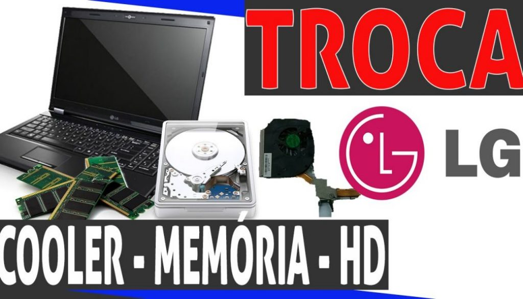 Limpeza de Cooler Notebook LG r580