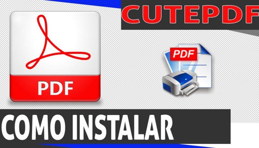 como criar um arquivo pdf instalar?
