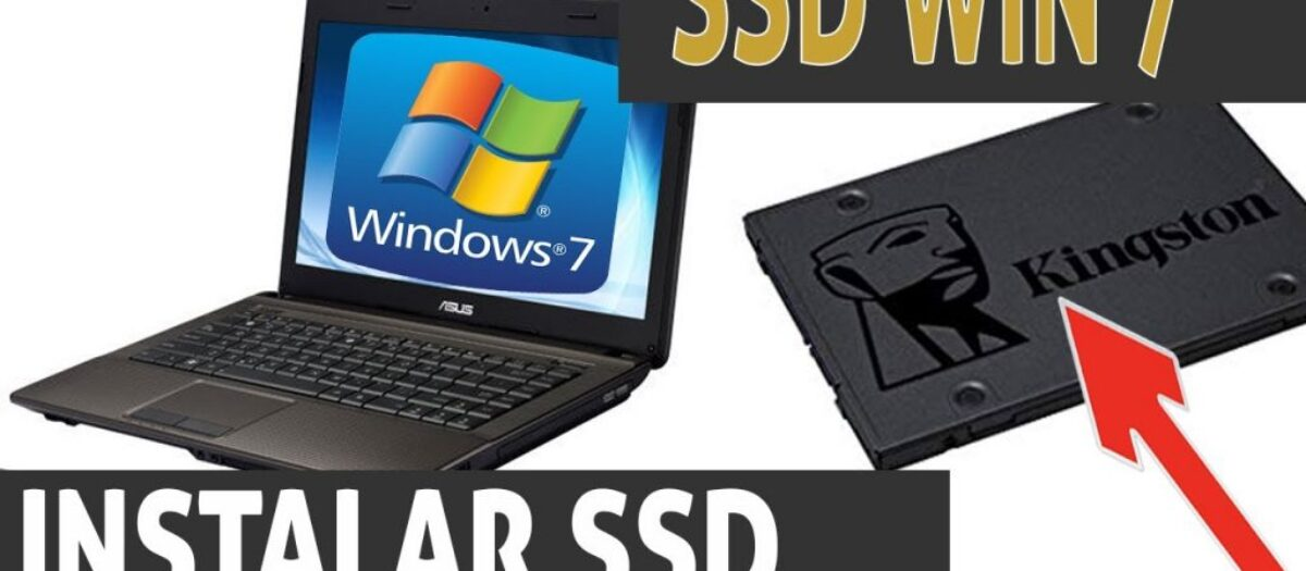 Instalando Windows 7 SSD com 4gb