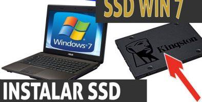 Widows 7 SSD