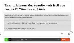 Como tirar print em um Mac