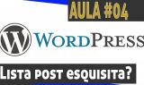 Alterar visualização da lista de posts do wordpress