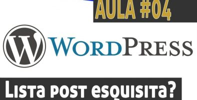 Alterar visualização da lista de posts do wordpress