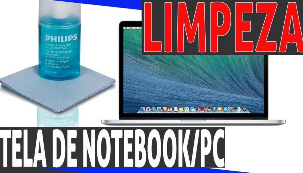 Aprenda a limpar a tela do seu computador / notebook | Vídeo #04