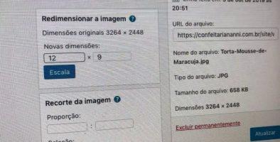 Como editar imagens no WordPress