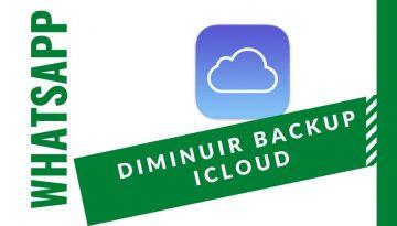 Como limpar espa co no iPhone diminuindo o backup do Whatsapp no iCloud