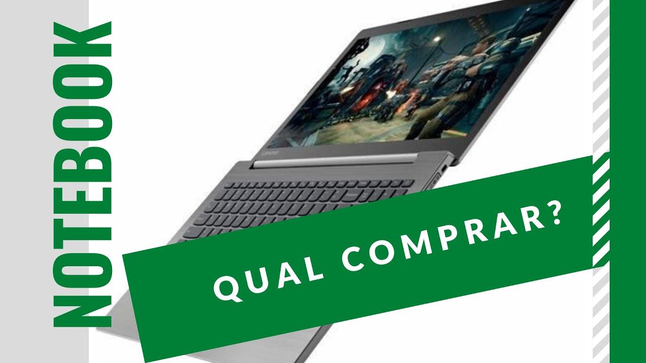 Qual notebook comprar em 2020?