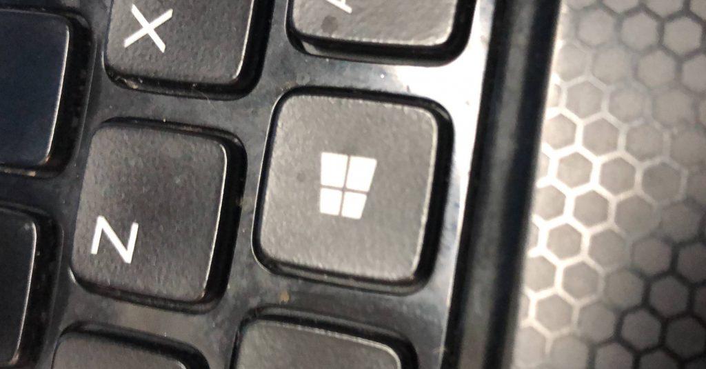 teclas windows teclado