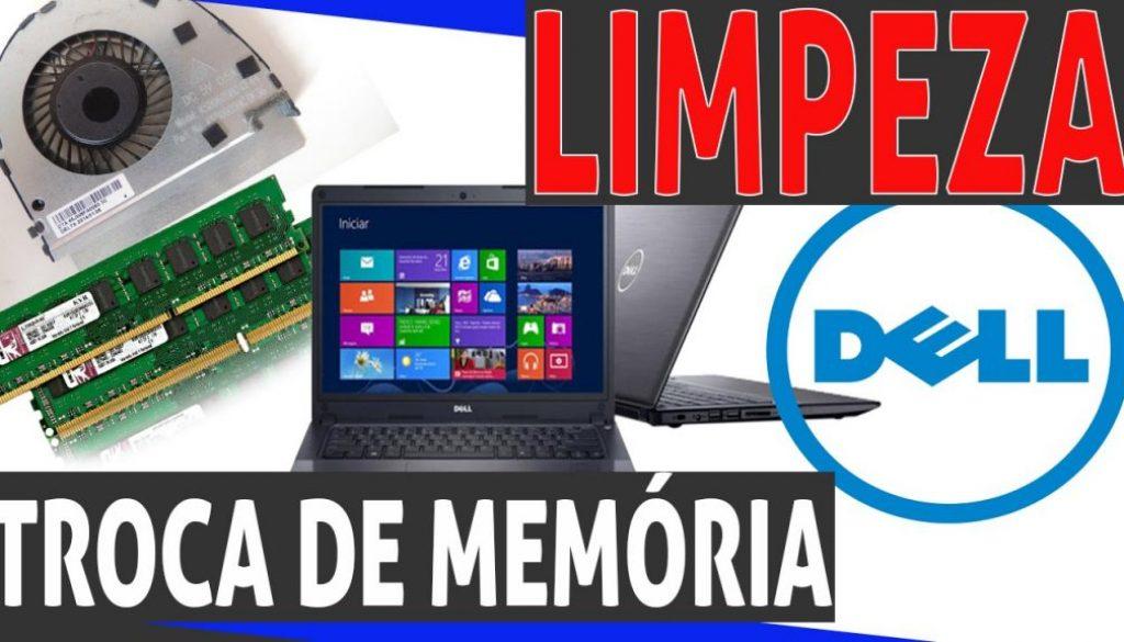 Limpeza de cooler e troca de memória e hd Dell Vostro 5470