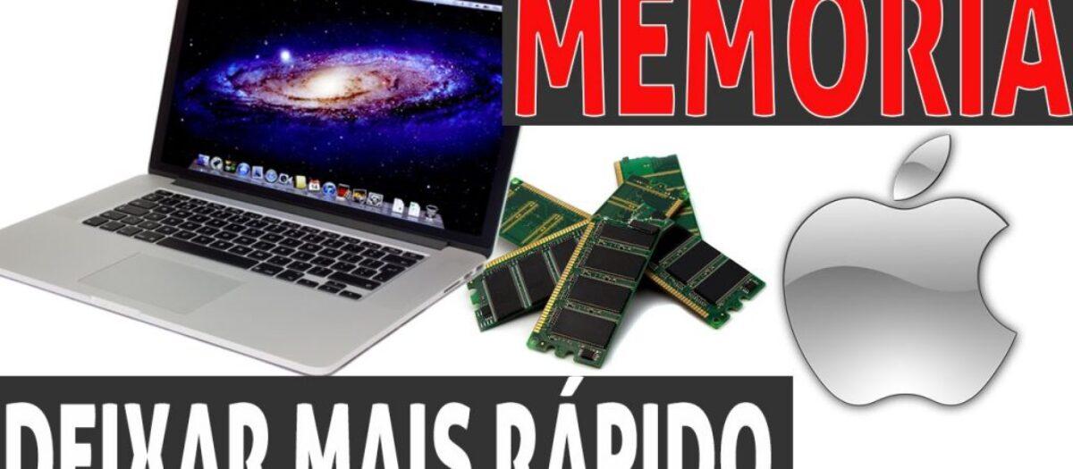 Veja neste tutorial como colocar memória no Macbook