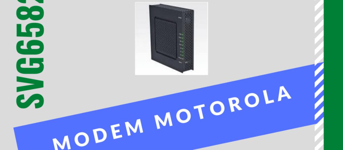 Senha do Svg6582 para administrador do modem roteador Motorola