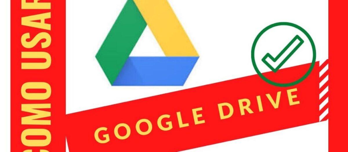 Google Drive para compartilhar pastas e arquivos