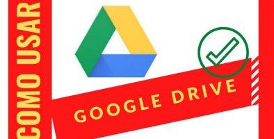 como usar google drive