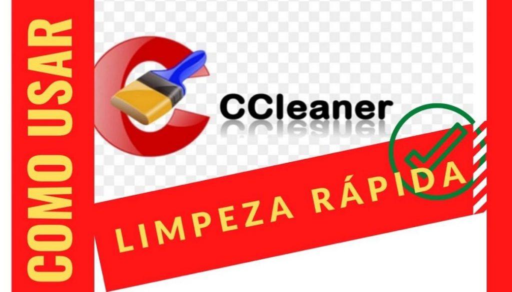 ccleaner como usar limpeza rápida img_3956