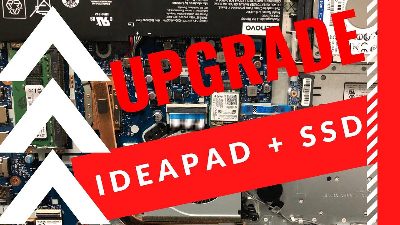 Upgrade Lenovo Ideapad SSD 240gb Kingston