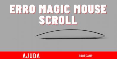 magic mouse scroll