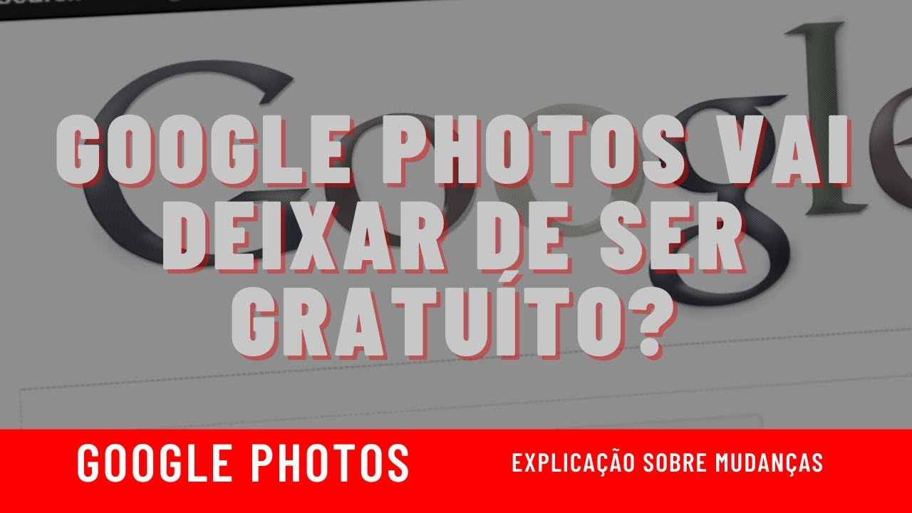 Google Fotos vai deixar de ser gratuíto?